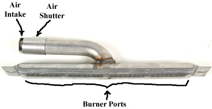 Identification Of Burner Features To Clean Vent Free Gas
